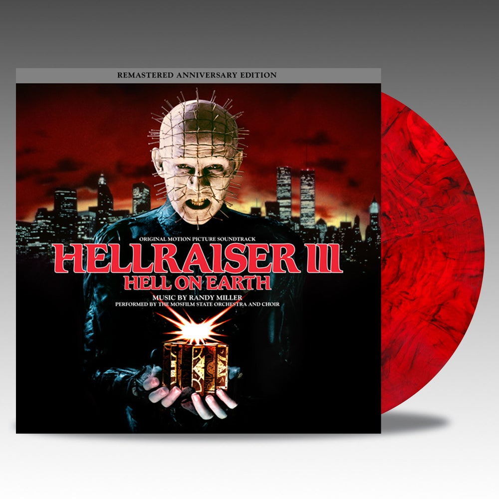 Image of Hellraiser III - Hell On Earth 'Red W/ Black Smoke' Vinyl - Randy Miller