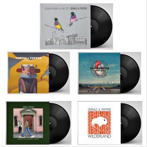 Image of PREORDER- 5 x Vinyl LP Limited Edition 180g Gatefold 'Z&P Complete'