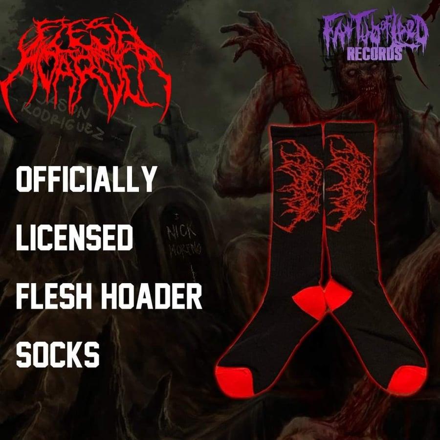 Image of Officially Licensed Flesh Hoarder Socks!!!