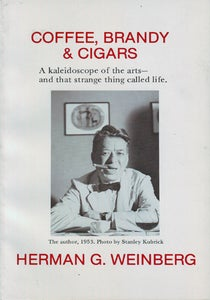 Image of Coffee, Brandy & Cigars, by Herman G. Weinberg