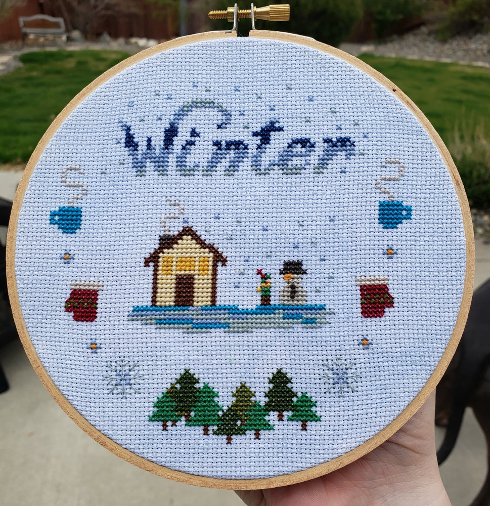 Image of Tiny Winter StitchAlong