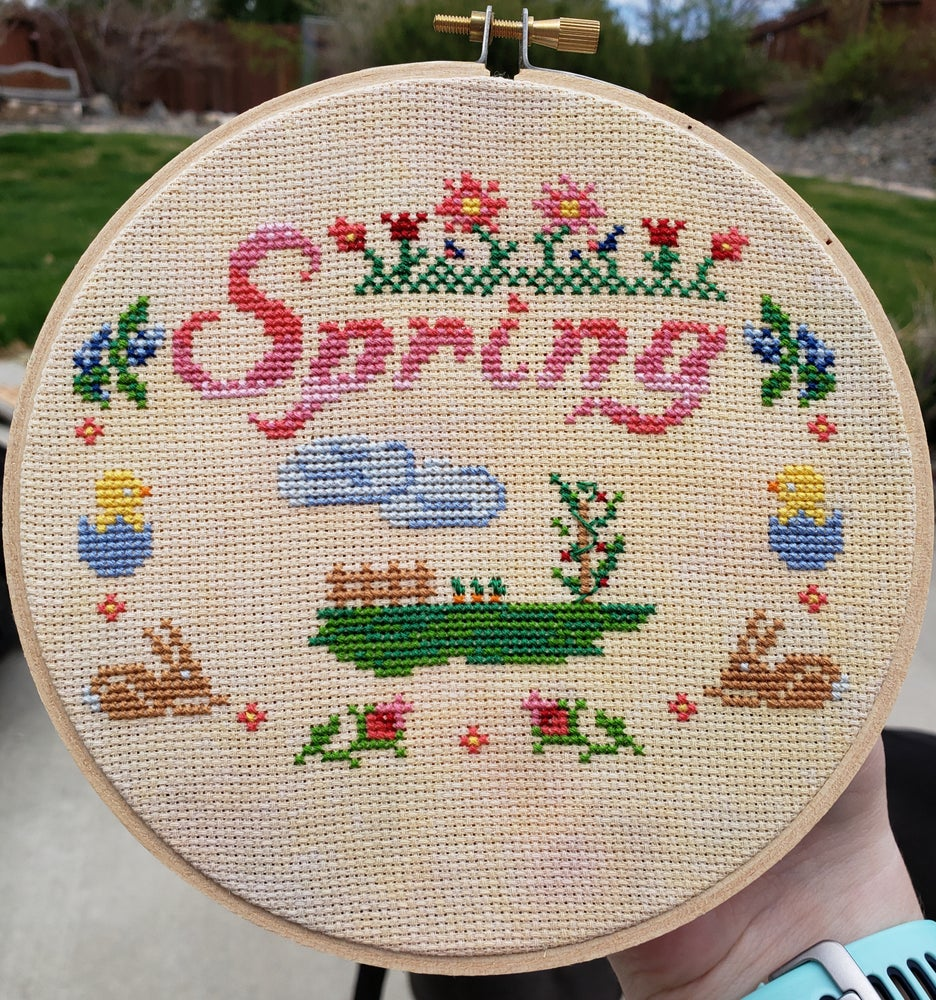 Image of Tiny Spring StitchAlong