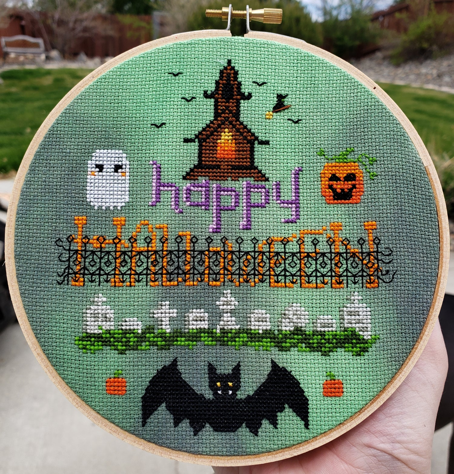 Image of Tiny Halloween StitchAlong
