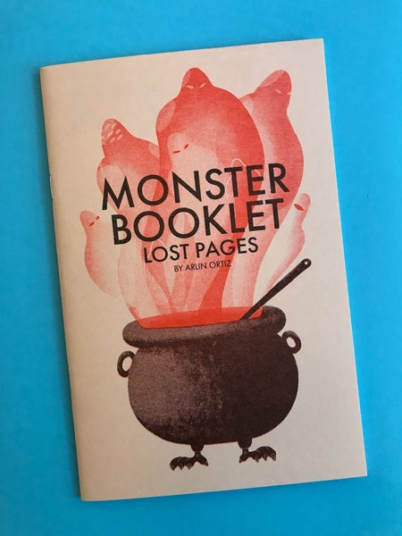 Image of Monster Booklet: Lost Pages