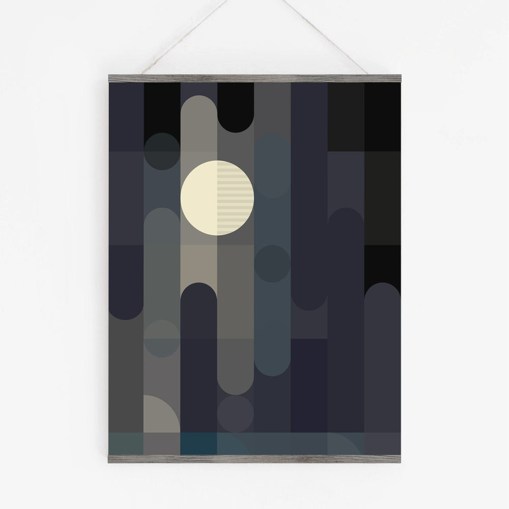 Image of Lunar Elements Art Print