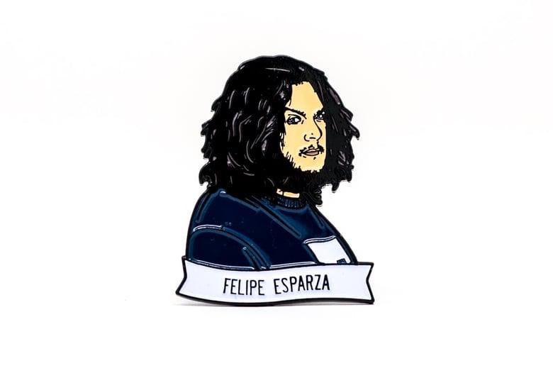 Image of Felipe Esparza Enamel Pin