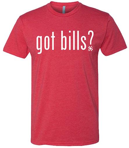 Image of Got Bills RED