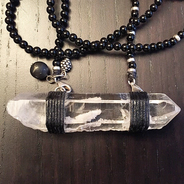 Image of Long & Lean Infinity with Lemurian Crystal I