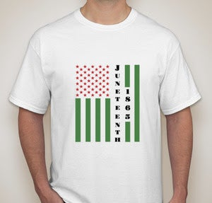 Image of 2019 Juneteenth T-Shirt - White