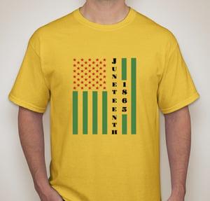Image of Juneteenth T-Shirt - Yellow
