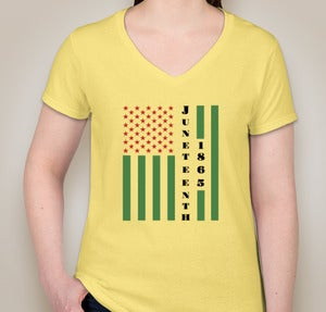 Image of Juneteenth T-Shirt - Yellow