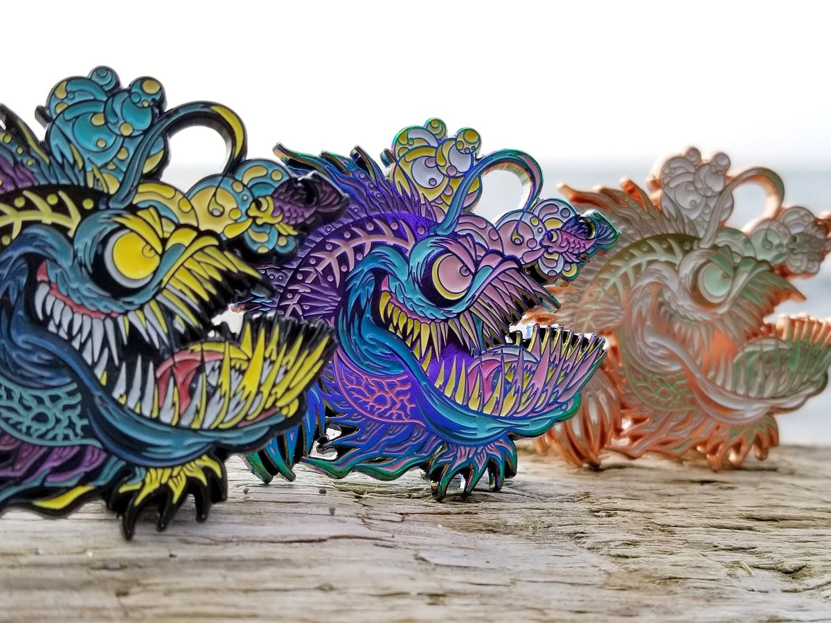 Image of Creatures from Below: Anglerfish {full set}