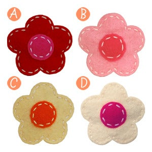Image of little girl hair clips #2
