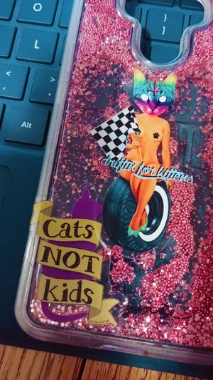 Image of Cats Not Kids Mini Sticker