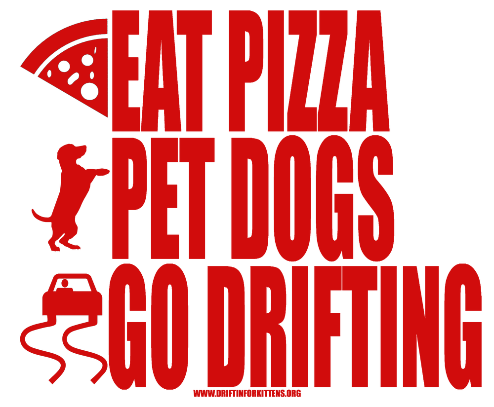 Image of Pizza, Dogs, Drifting T-Shirt