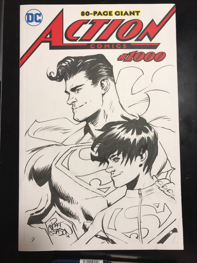 Image of Superman and Son: Action Comics 1000 blank