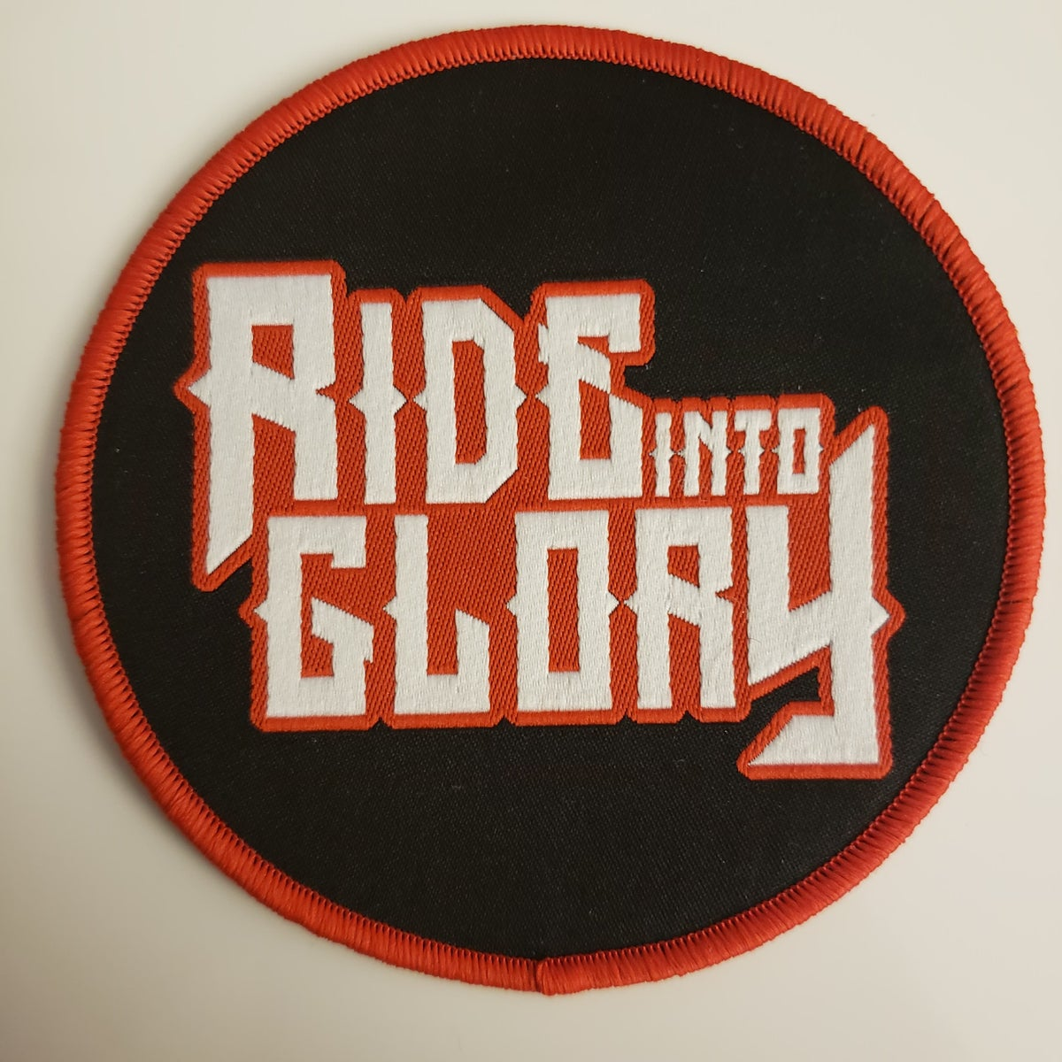 Image of Logo - Red Border Patch
