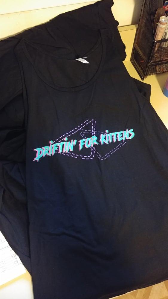 Image of Driftin' for Kittens Radical Tank Top
