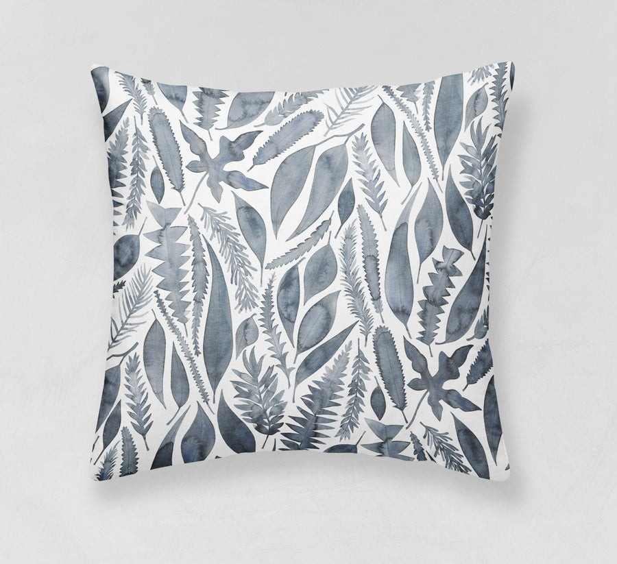 Image of Native Garden Belgian Cotton Linen Cushion