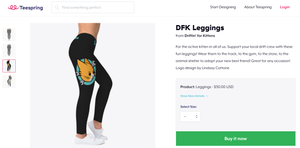 Image of TeeSpring Shop - DFK HOODIES