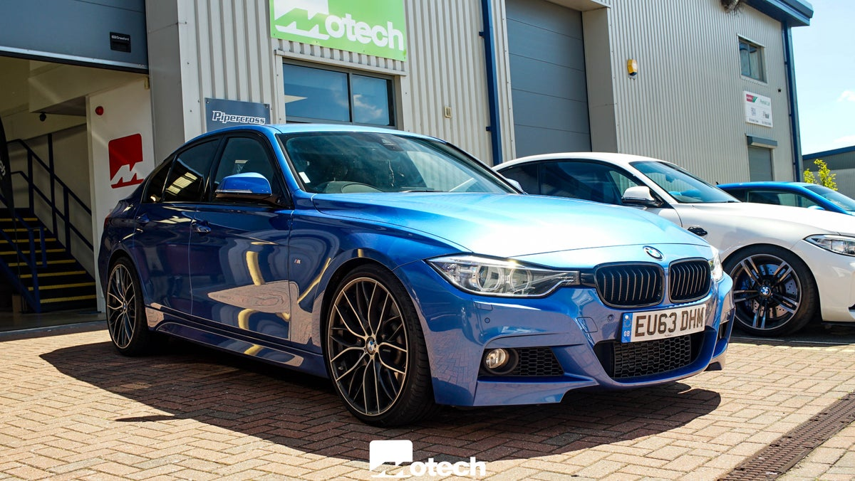 Image of BMW 330d 335d xDrive Eibach Lowering Springs