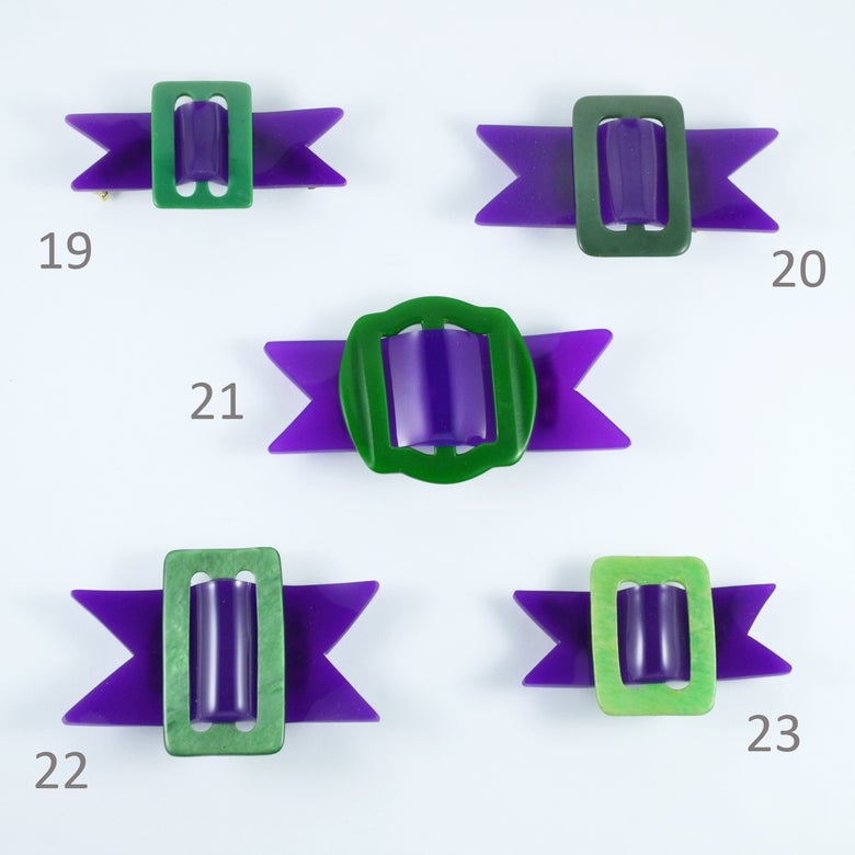 Image of Buckle Brooches 19 to 23