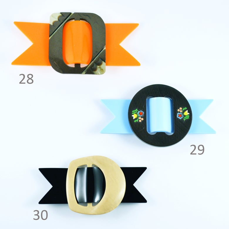 Image of Buckle Brooches 28 to 30