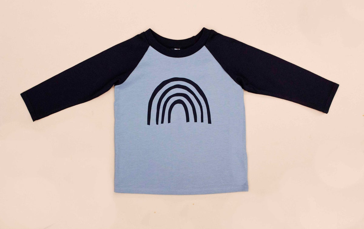 Image of Rainbow Raglan Cotton top