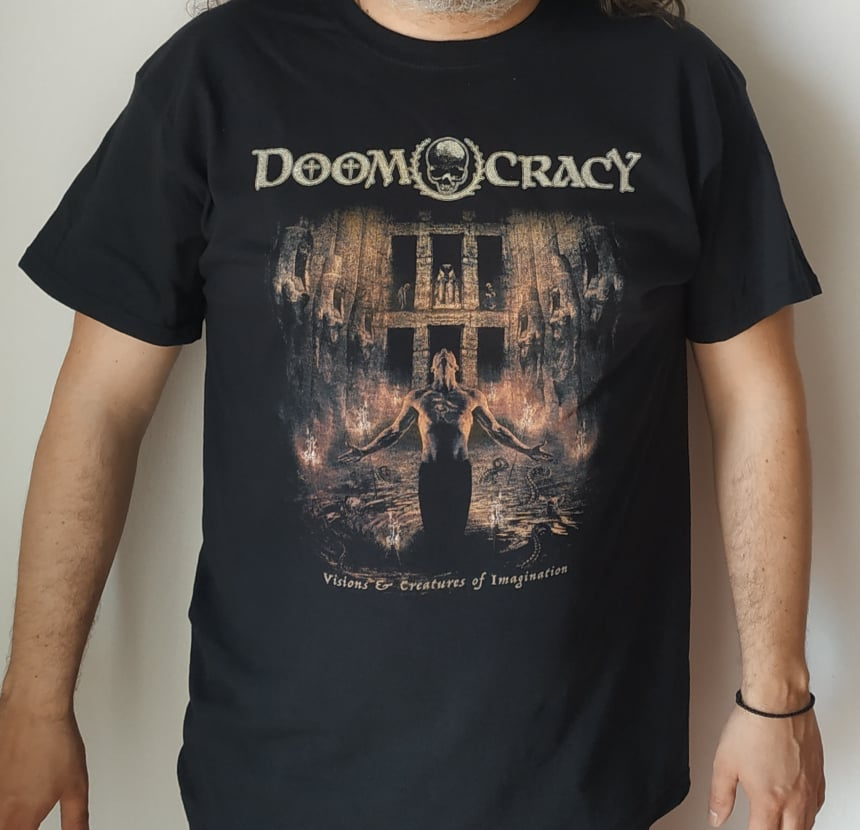 Image of DOOMOCRACY - VISIONS...T-SHIRT