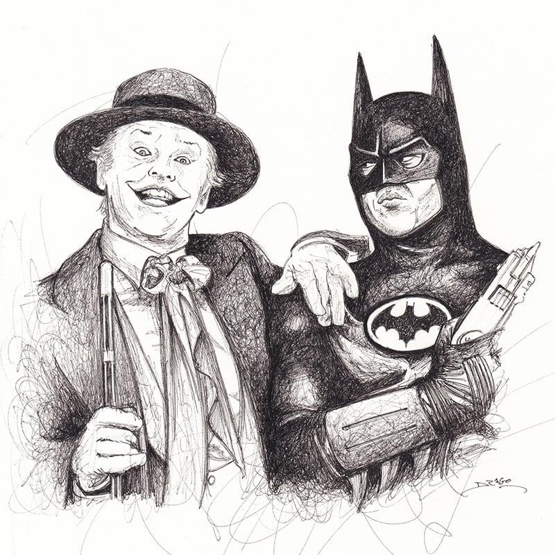 Image of Batman Doodle