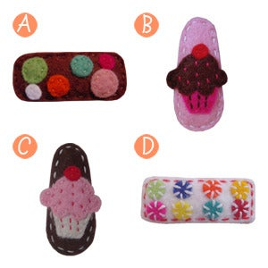 Image of big girl hair clips #8