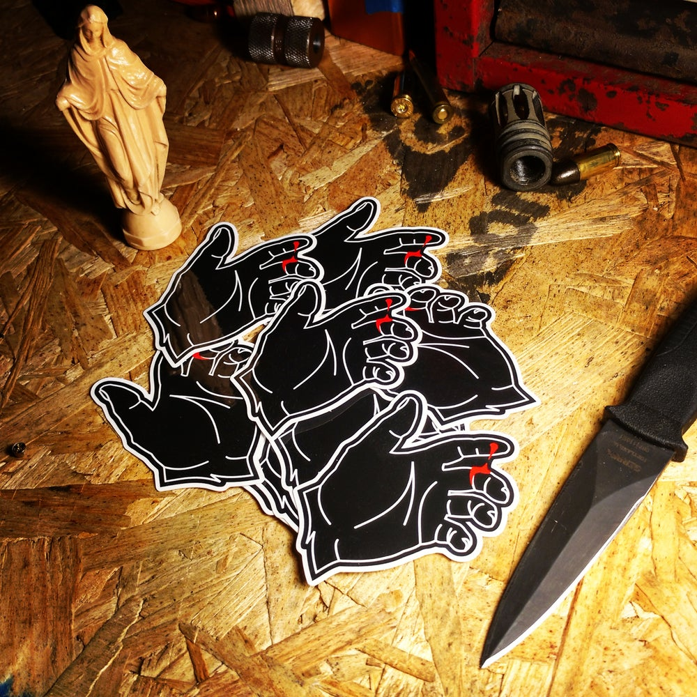 Image of Albert Defense Omertà V2 Sticker