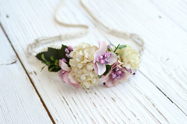 Image of Floral sitter headband