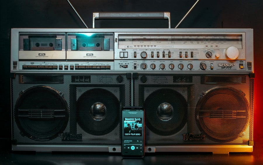 Image of SHARP GF-777 BLUETOOTH BOOMBOX (1982)
