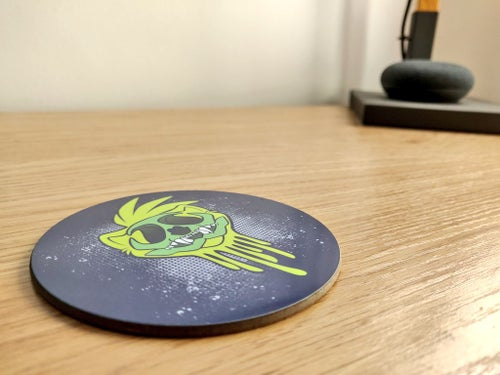 Image of Ferret Skull Coaster