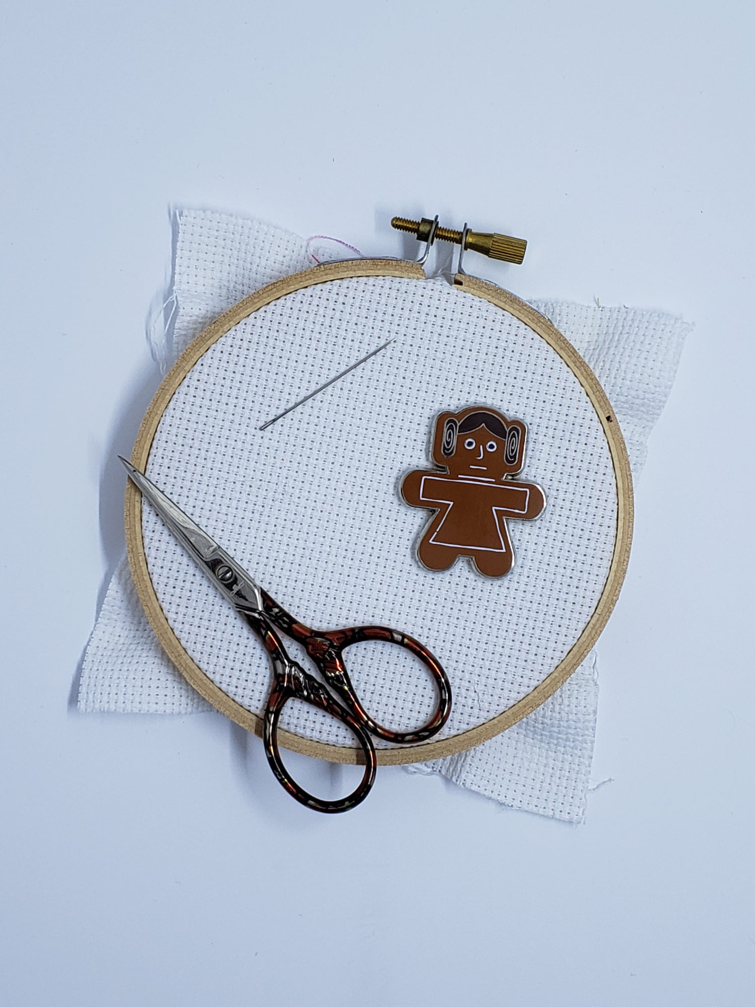 Image of Disney Needle Minder - Gingerbread Leia