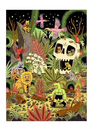 Image of Jungle - A3 print
