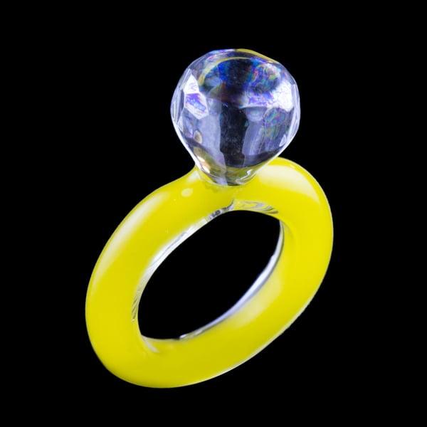 "Image of Oil Slick ""Diamond Cut"" Ring"