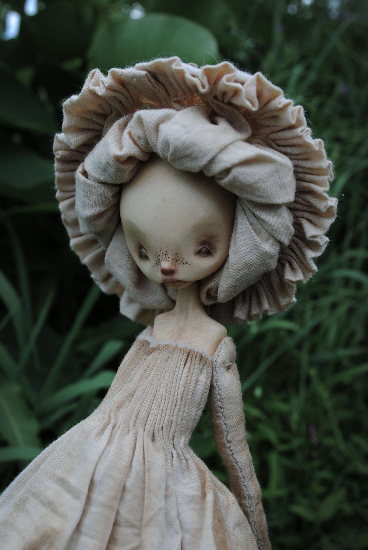 Image of mushroom matriarch mimic : in ecru & coffee