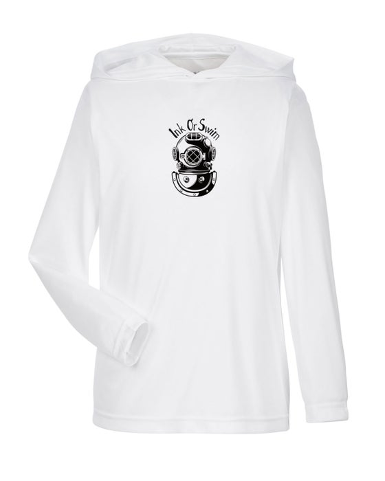 Image of Ink or Swim Children's 'Explorer' Hooded SPF 50 Shirt