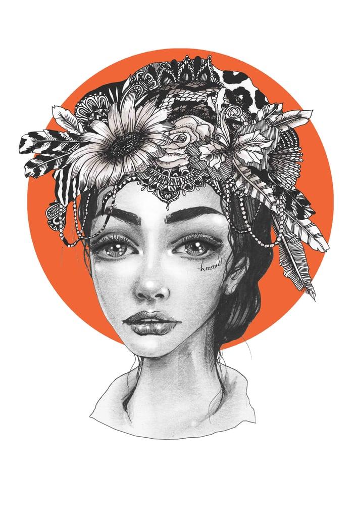 Image of PortlandHalo A3 Print