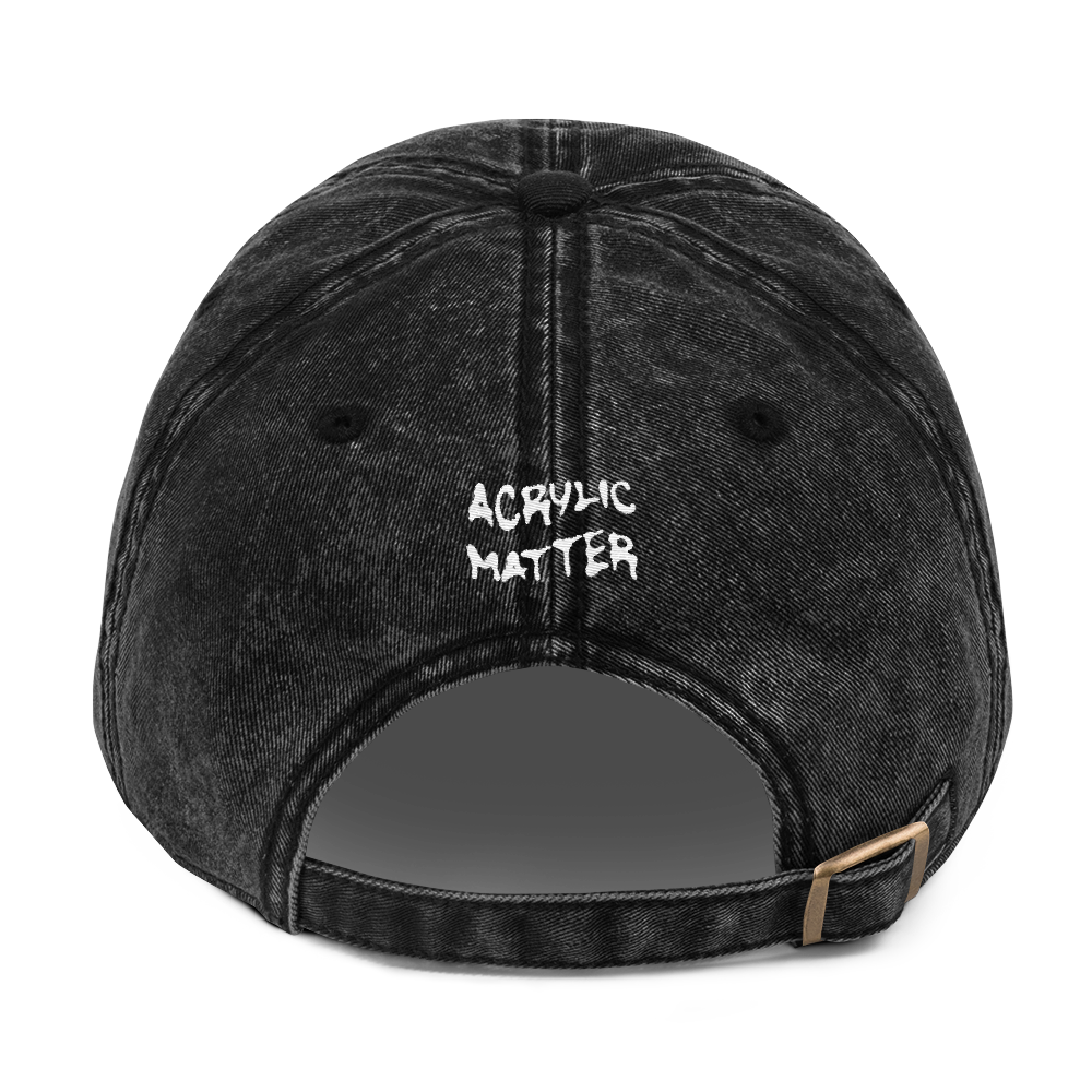 Image of WEIRDOSH*T DENIM DAD CAP