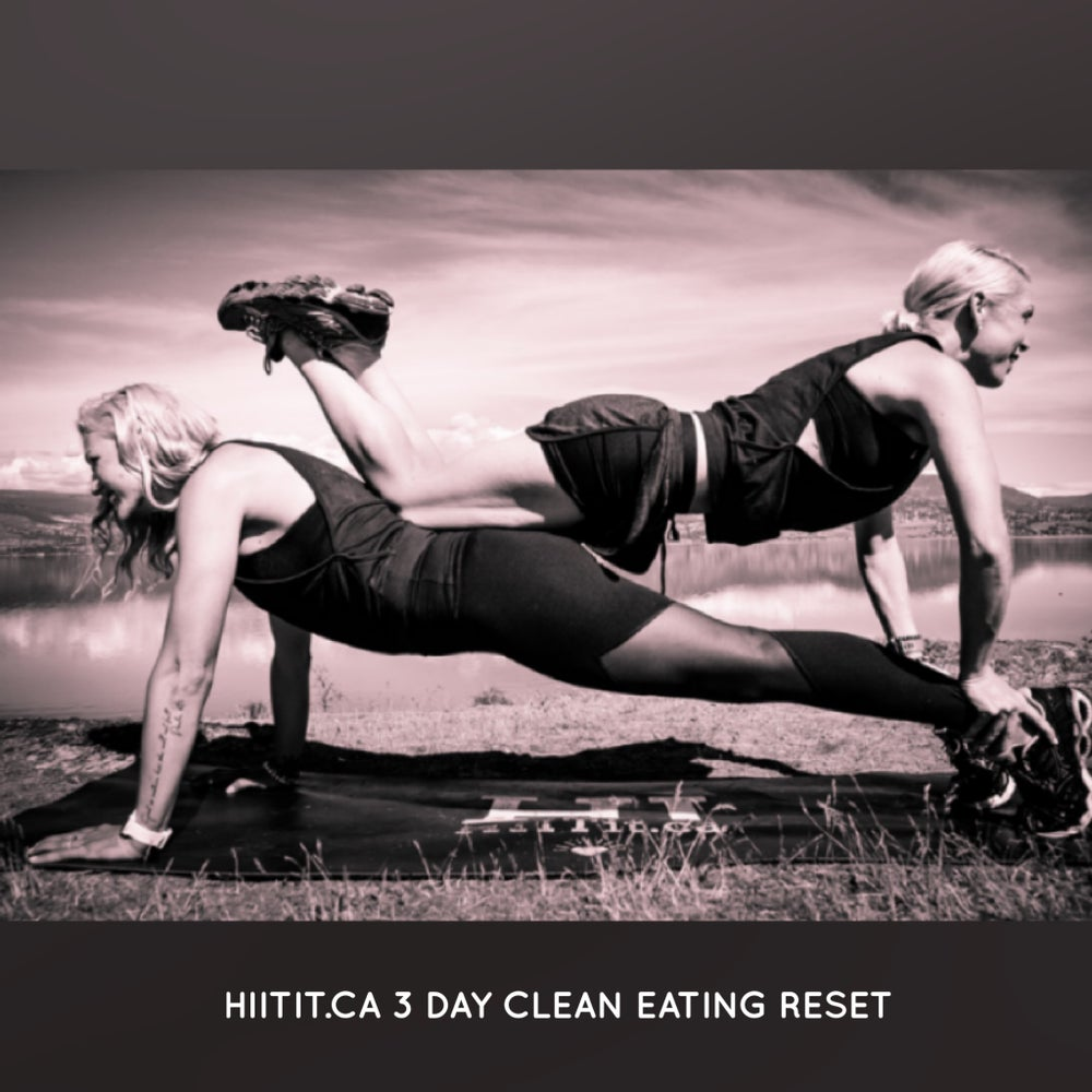 Image of HIITit.ca 3-Day Clean Eating Challenge + Food Guide