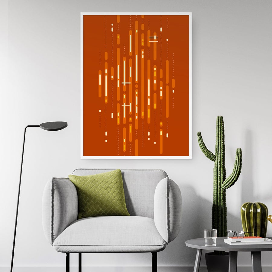 Image of Mid-Century Sunset Art Print