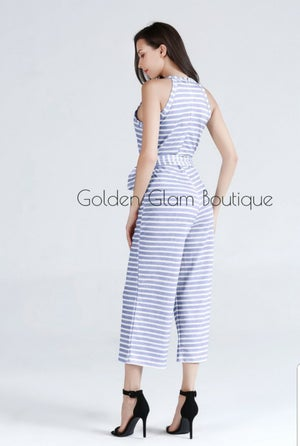 Image of All Striped Out Jumpsuit
