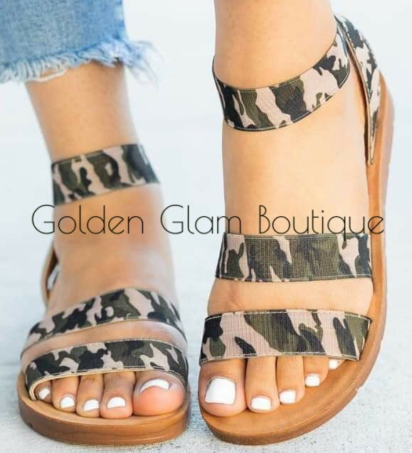Image of Camouflage Me Sandals