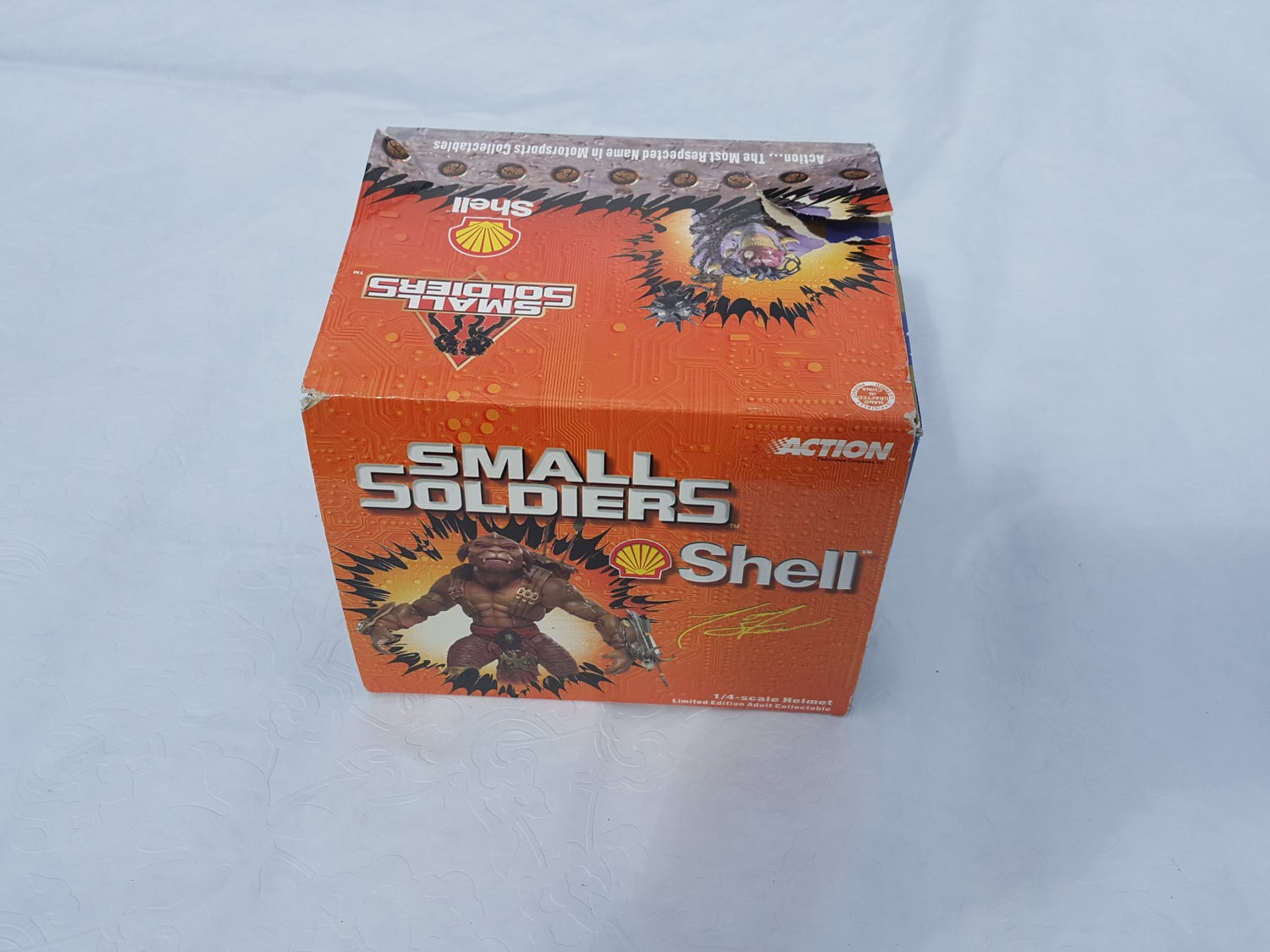 Image of 1998 Tony Stewart Small soldiers Helmet replica