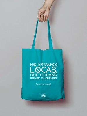 Image of Totebag Locas