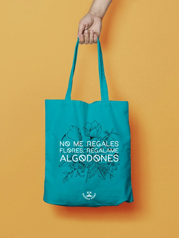 "Image of Totebag ""Flores"""