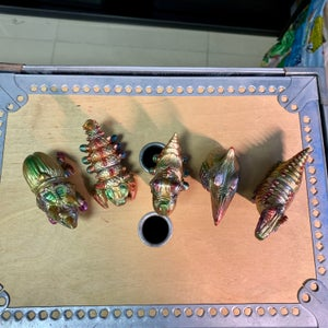 Image of Fossilpods set painted by MaxFan